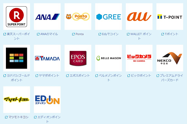 Edyポイントサービス画像